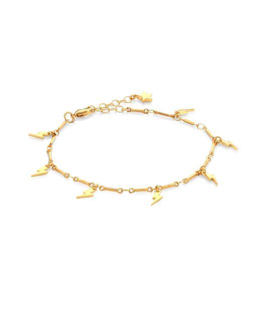 Ileana Makri | Metallic Mini Thunderbolt Bracelet | Lyst