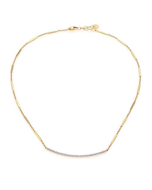 Marco Bicego - Metallic Goa Pave Diamond, 18k Yellow Gold & 18k White Gold Necklace - Lyst