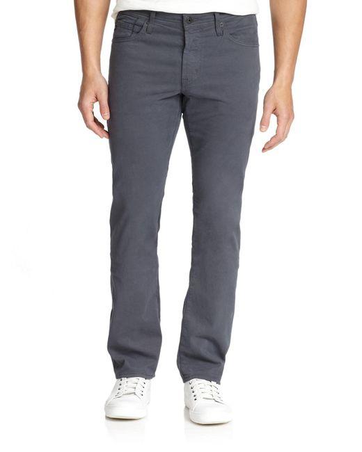 AG Jeans - Gray Graduate Tailored Leg Pants for Men - Lyst