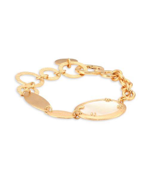Stephanie Kantis - Metallic Oval Link Bracelet - Lyst