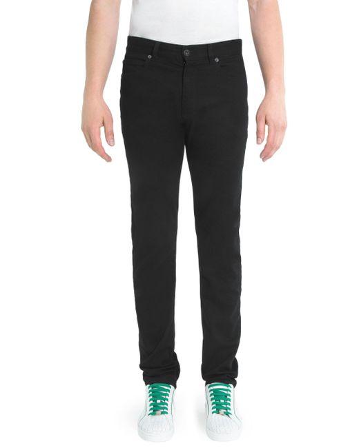 Versace - Black Skinny Jeans for Men - Lyst