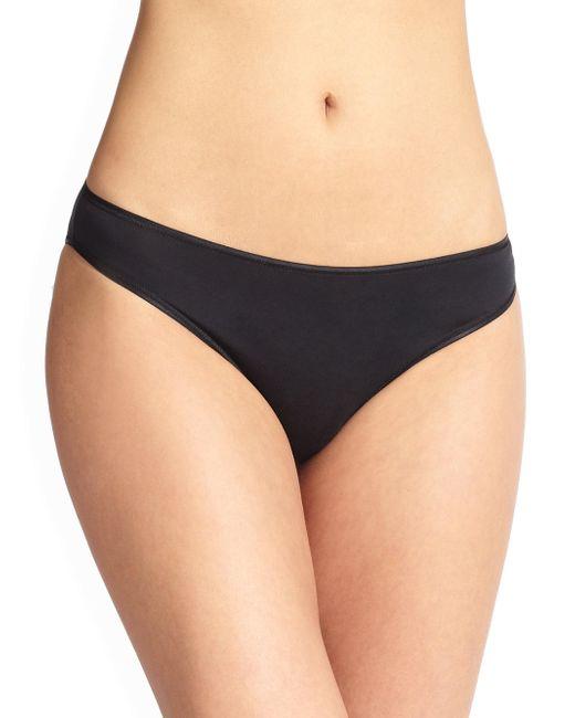Hanro - Black Cotton Sensation Bikini - Lyst