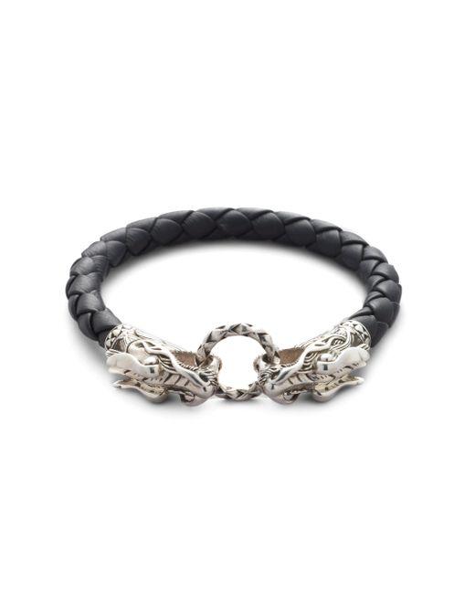 John Hardy | Black Naga Dragon Bracelet for Men | Lyst