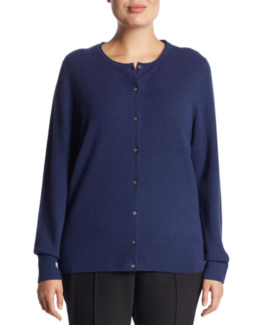 Saks Fifth Avenue - Blue Collection Cashmere Knitted Sweater - Lyst