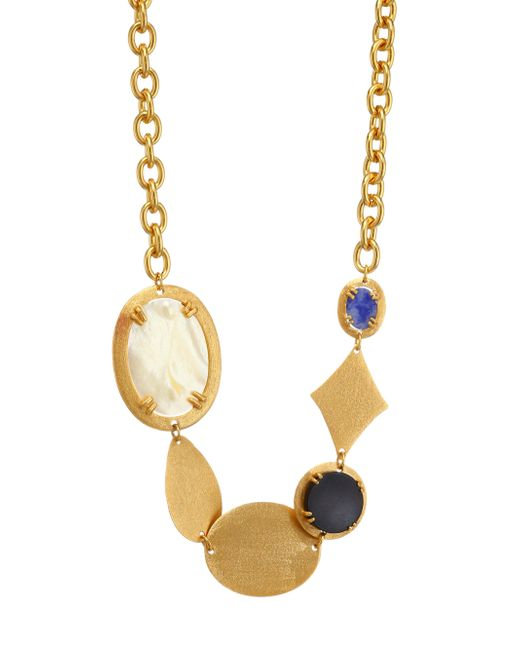 Stephanie Kantis - Metallic Mother-of-pearl And Black Onyx Necklace - Lyst
