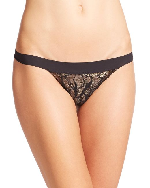 Commando - Black Double Take G-string - Lyst