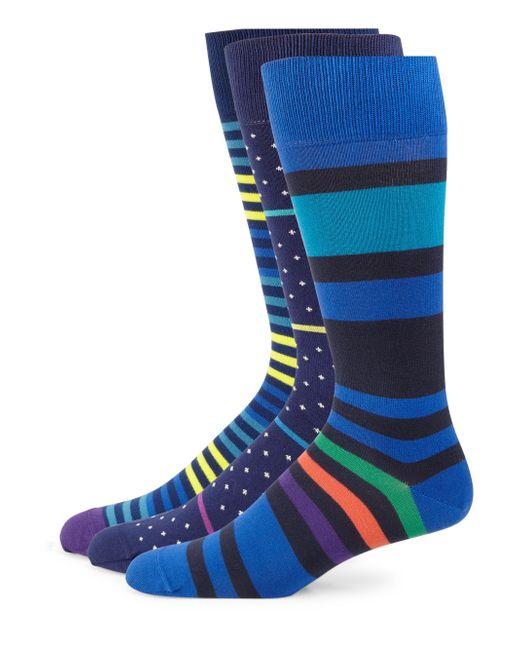 Paul Smith   Blue Printed Socks Set for Men   Lyst