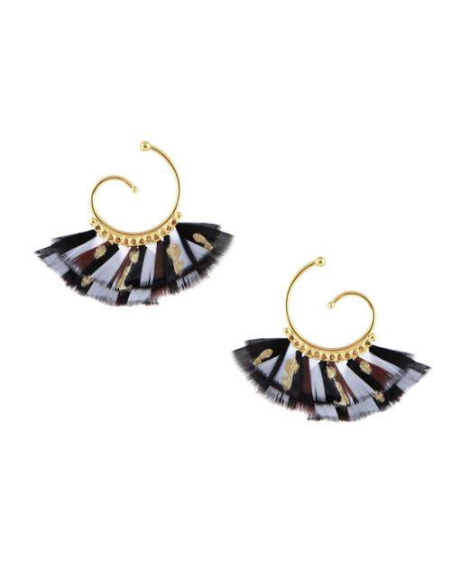 Gas Bijoux   Metallic Buzios Mini Earrings   Lyst