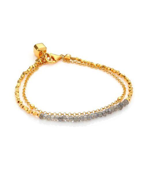Astley Clarke | Metallic Biography Labradorite Beaded Friendship Bracelet | Lyst