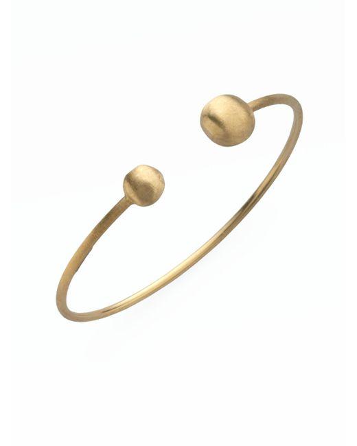 Marco Bicego - Metallic Africa 18k Yellow Gold Ball Cuff Bracelet - Lyst