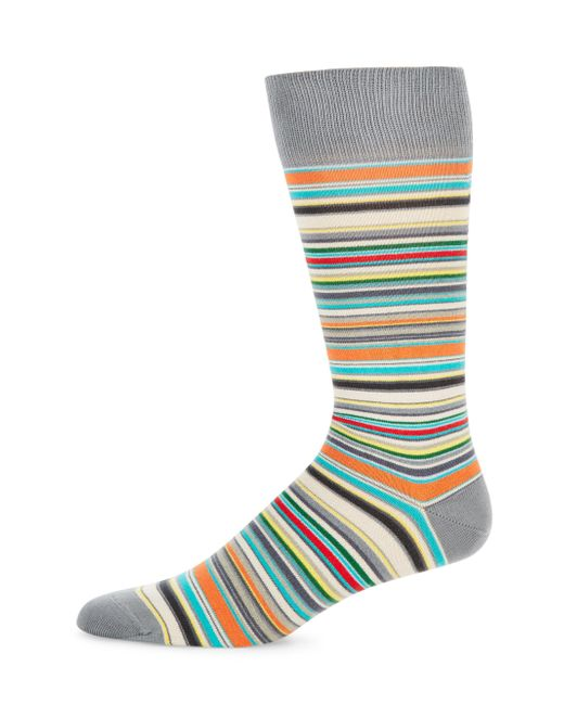 Paul Smith | Multicolor Stripe Mid-calf Socks for Men | Lyst