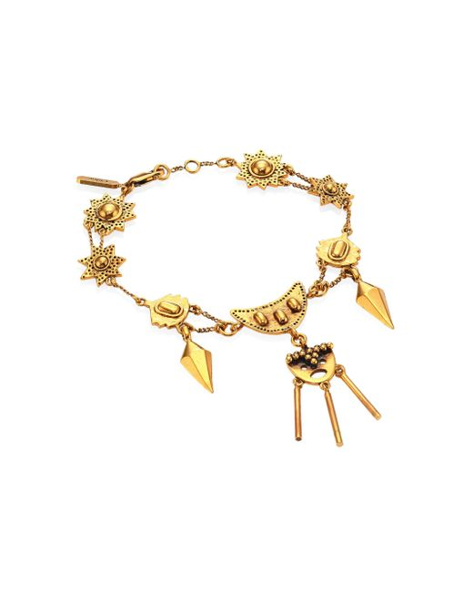 Chloé | Metallic Layton Charm Bracelet | Lyst