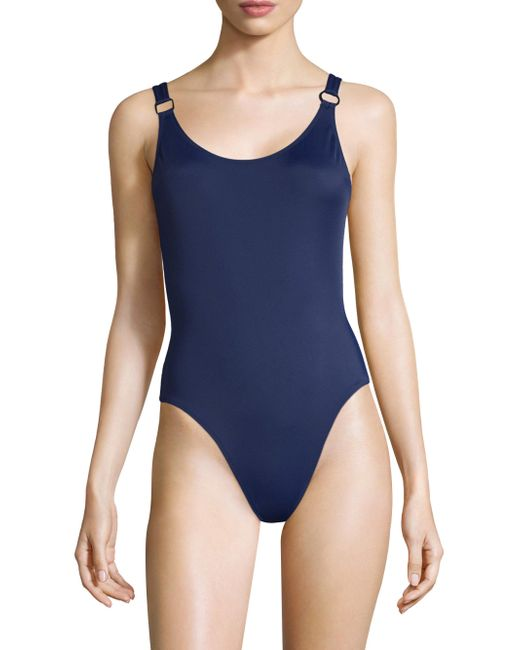 Solid & Striped | Blue Stella One-piece Swimsuit | Lyst