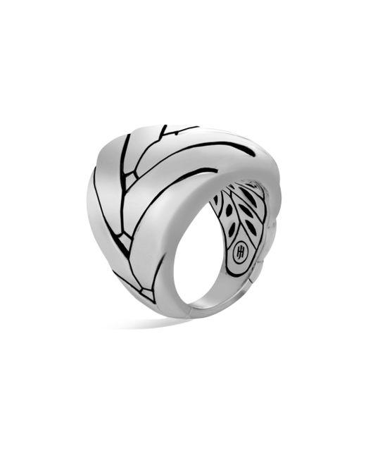 John Hardy | Metallic Modern Chain Sterling Silver Large Ring | Lyst