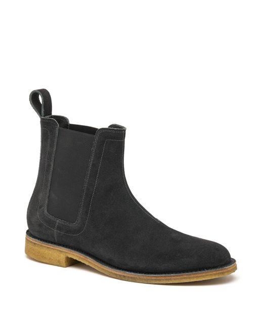 Bottega Veneta - Gray Aussie Suede Chelsea Boots for Men - Lyst