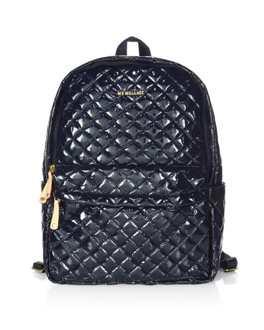 MZ Wallace - Blue Metro Backpack - Lyst