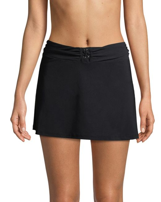 Gottex - Black Lace-up Skirt - Lyst