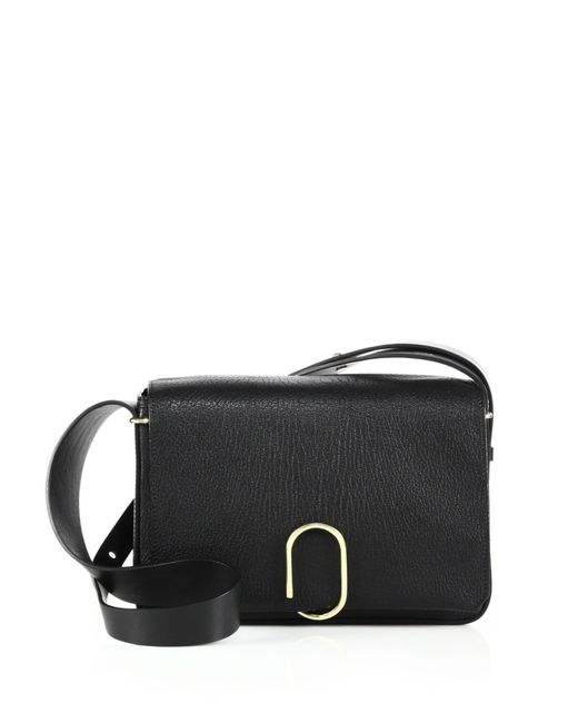 3.1 Phillip Lim | Black Alix Leather Shoulder Bag | Lyst