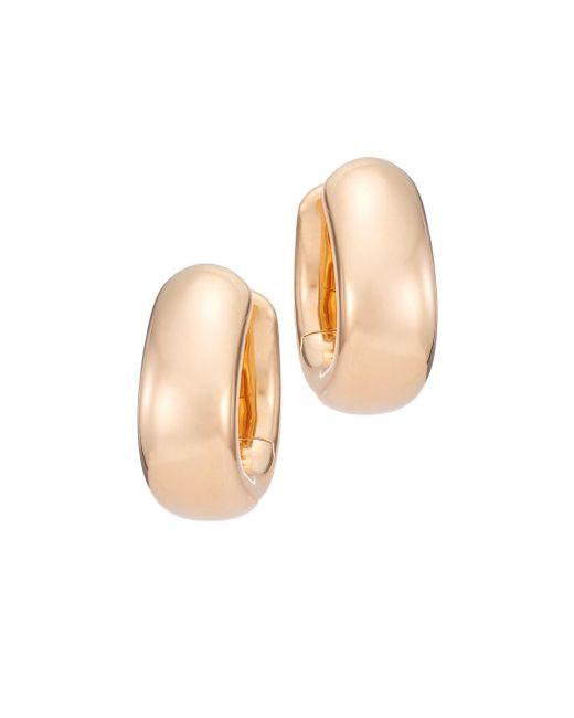 Pomellato - Metallic Iconica 18k Rose Gold Huggie Hoop Earrings - Lyst