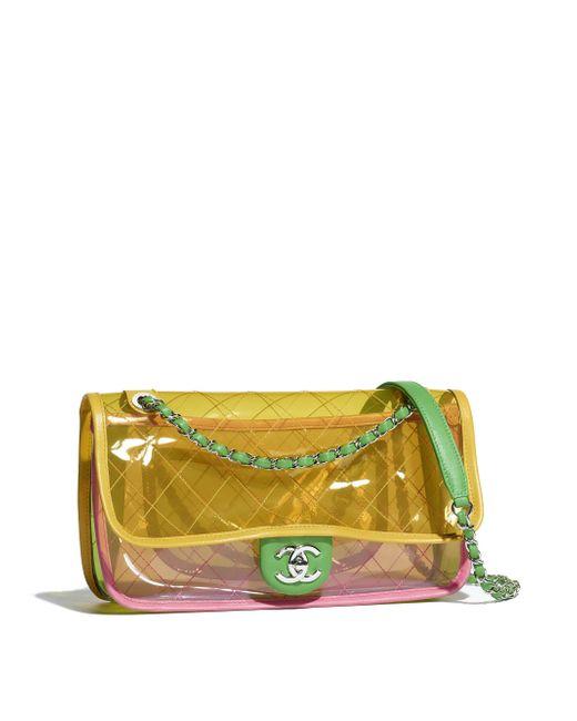 Chanel - Pink Flap Bag - Lyst