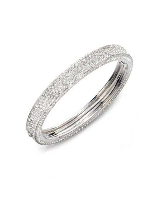 Adriana Orsini - Metallic Pave Sparkle Bracelet - Lyst