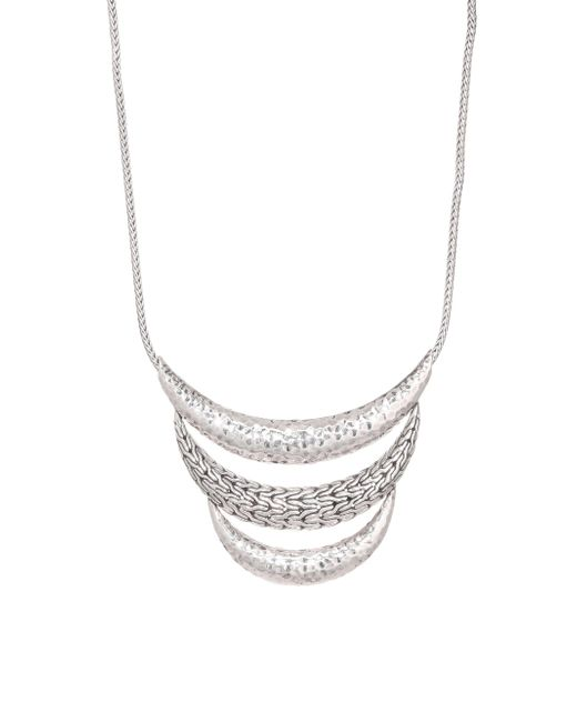 John Hardy - Metallic Classic Chain Hammered Silver Necklace - Lyst