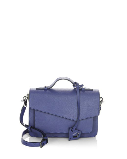 Botkier | Blue Cobble Hill Leather Satchel | Lyst