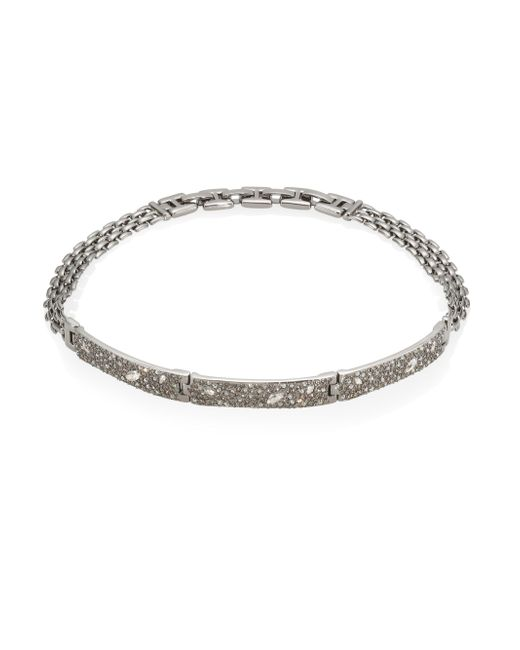 Alexis Bittar   Metallic Elements Crystal Encrusted Watch Link Necklace   Lyst