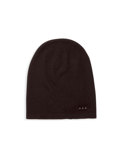 John Varvatos - Black Knitted Wool Beanies for Men - Lyst