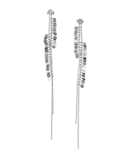 Sia Taylor - Metallic Dots Sterling Silver Drop Earrings - Lyst