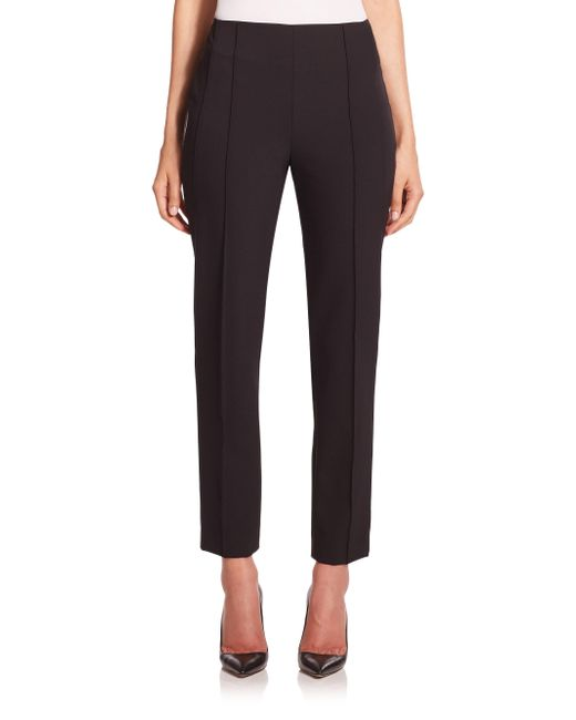 ESCADA - Black Tuska Cropped Techno Pants - Lyst