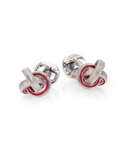 Saks Fifth Avenue | Textured Knot Cuff Links for Men | Lyst