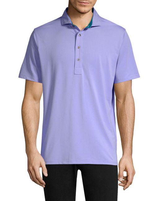 Greyson - Blue Tala Polo Shirt for Men - Lyst