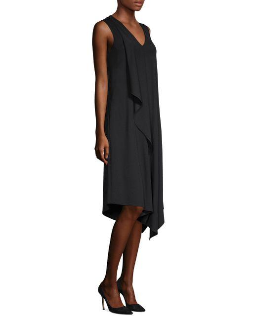 Lafayette 148 New York - Black Costello Shift Dress - Lyst