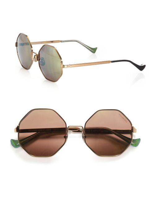Cutler & Gross - Pink 51mm Octagon Sunglasses - Lyst