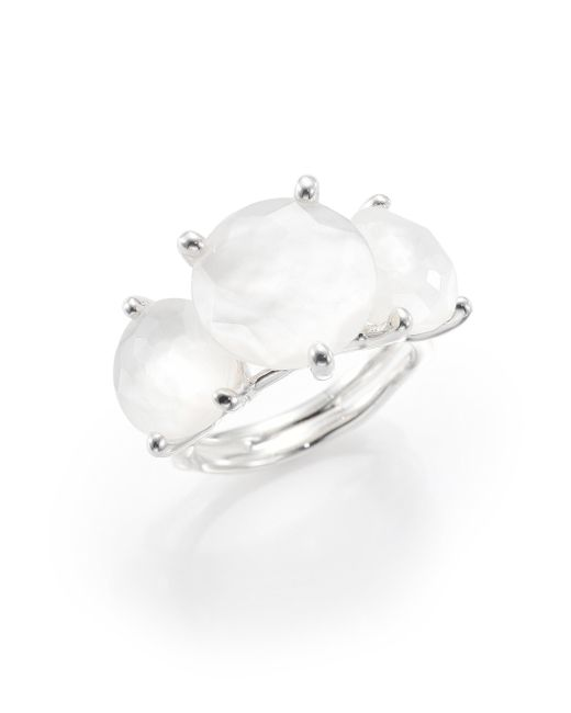 Ippolita | Metallic Rock Candy Mother-of-pearl & Sterling Silver Ring | Lyst