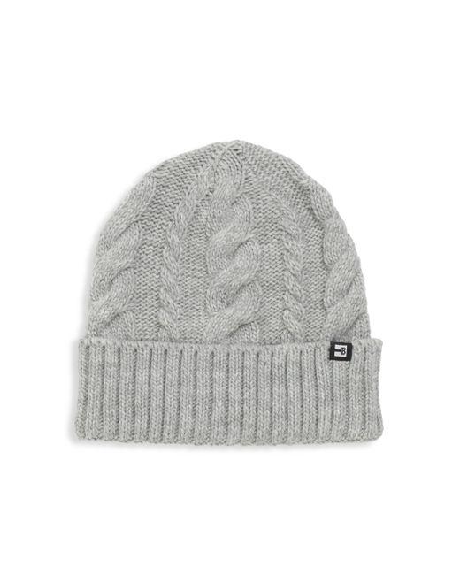 Block Headwear | Gray Cable Cuff Beanie for Men | Lyst