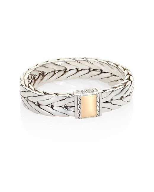 John Hardy | Metallic Classic Chain Collection Sterling Silver Link Bracelet | Lyst