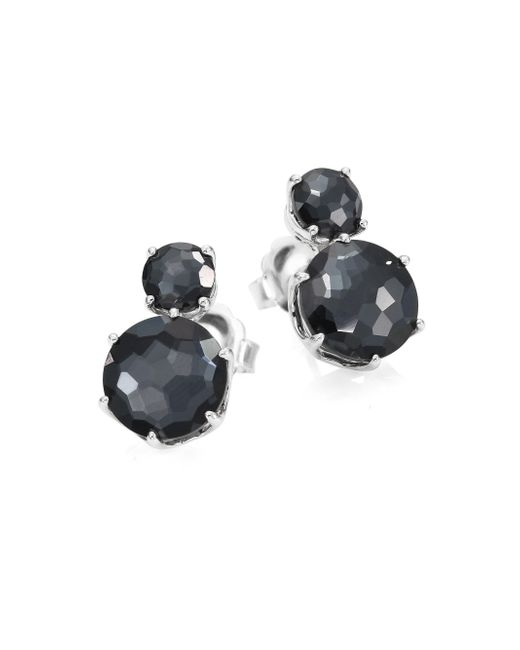 Ippolita - Metallic Rock Candy® Two-stone Clear Quartz & Hematite Earrings - Lyst