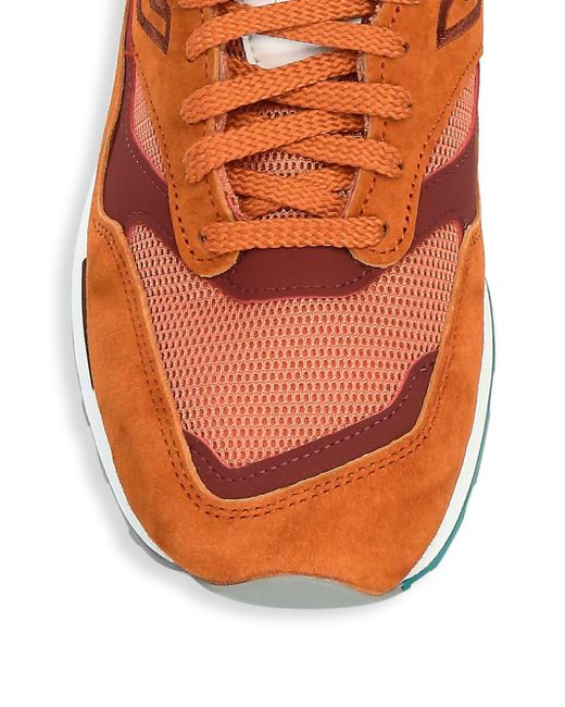 on sale dee08 50d2c ... New Balance - Orange New Balance 1500 Made In Uk Shoes for Men - Lyst  ...