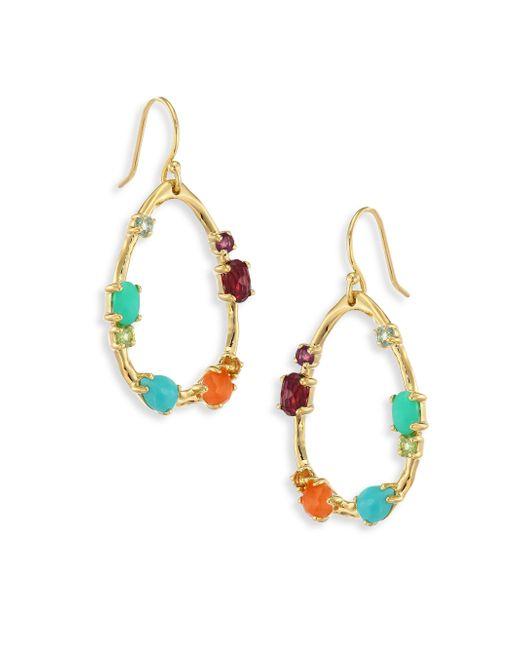 Ippolita   Metallic 18k Rock Candy Semi-precious Multi-stone Medium Frame Earrings   Lyst