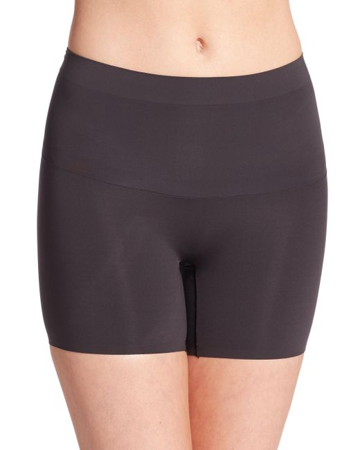 Spanx - Black Shape My Day Girl Shorts - Lyst