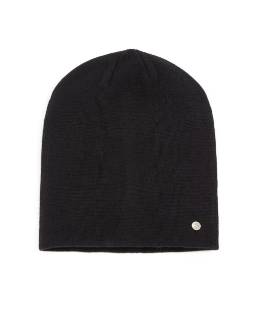 Bickley + Mitchell - Black Cashmere & Merino Wool Beanie for Men - Lyst