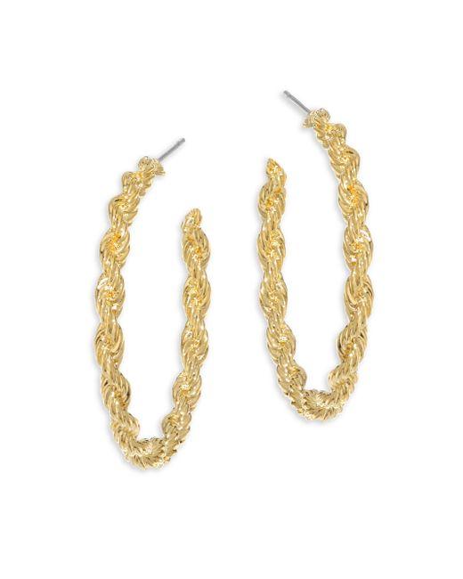 Vita Fede - Metallic Nora Twisted Hoop Earrings/1.25 - Lyst