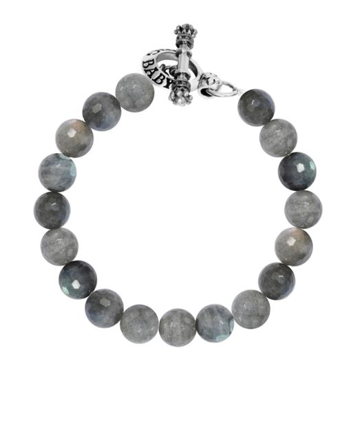 King Baby Studio | Metallic Labradorite Sterling Silver Beaded Toggle Bracelet | Lyst