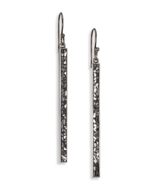 Shana Gulati - Metallic Jemma Miladi Raw Sliced Diamond Drop Earrings - Lyst