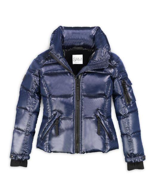 Sam.   Blue Girl's Freestyle Puffer Jacket   Lyst