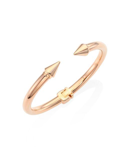 Vita Fede | Metallic Mini Titan Cuff Bracelet/rose Goldtone | Lyst
