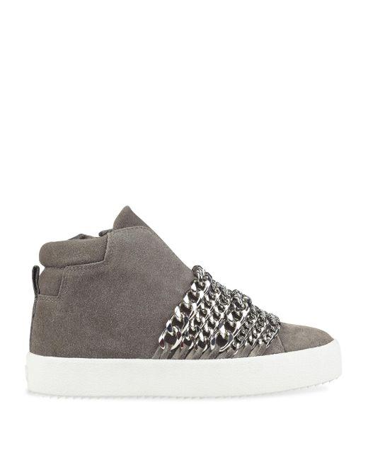 KENDALL + KYLIE Side-Zip Suede Streetwear uQi0OW6FiE
