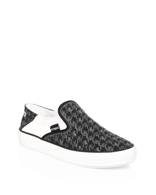 Vetements - Black Babouche Slip-on Sneakers - Lyst